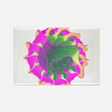 Cute German pinscher Rectangle Magnet (100 pack)
