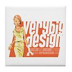 VBD Logo Tile Coaster