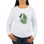 Buff-bellied Hummingbirds Women's Long Sleeve T-Sh