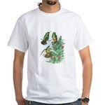 Buff-bellied Hummingbirds White T-Shirt