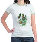 Buff-bellied Hummingbirds Jr. Ringer T-Shirt