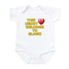 This Heart: Elmer (D) Infant Bodysuit