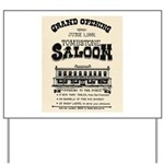 Tombstone Saloon Yard Sign