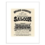 Tombstone Saloon Small Poster