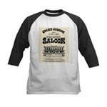 Tombstone Saloon Kids Baseball Jersey