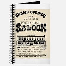 Tombstone Saloon Journal