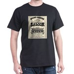 Tombstone Saloon Dark T-Shirt