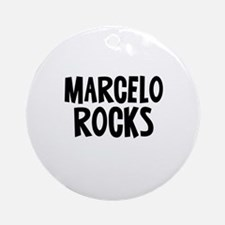 Marcelo Rocks Ornament (Round)