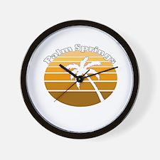 Palm Springs, California Wall Clock