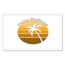 Palm Springs, California Rectangle Decal