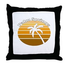 Palm Springs, California Throw Pillow