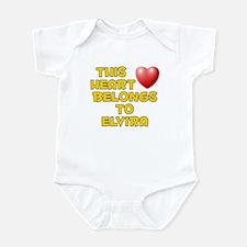 This Heart: Elvira (D) Infant Bodysuit