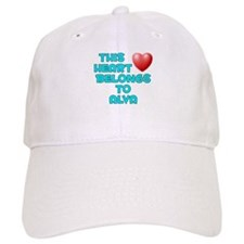 This Heart: Alva (E) Baseball Cap