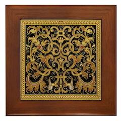Spanish Ebony Framed Tile