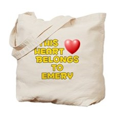 This Heart: Emery (D) Tote Bag