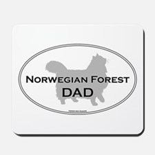 Norwegian Forest Dad Mousepad