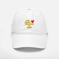 This Heart: Enid (D) Baseball Baseball Cap
