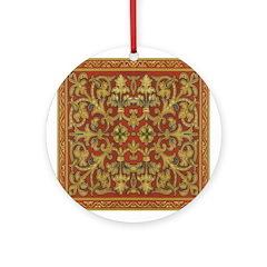 Spanish Ruby Ornament (Round)