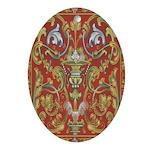 Spanish Ornate Oval Ornament