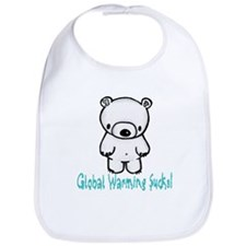 Global Warming Bib