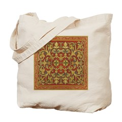 Spanish Ruby Tile Tote Bag