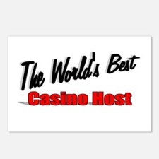 """""""The World's Best Casino Host"""" Postcards (Package"""