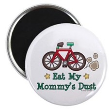 "Mommy's Dust Cycling Bicycle 2.25"" Magnet (10 pack"