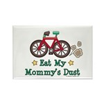 Mommy's Dust Cycling Bicycle Rectangle Magnet (100