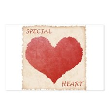 Special Heart Postcards (Package of 8)