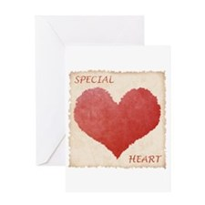 Special Heart Greeting Card