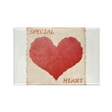 Special Heart Rectangle Magnet