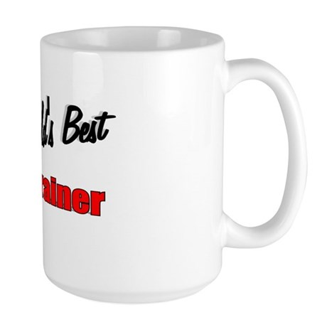 """The World's Best Cat Trainer"" Large Mug"