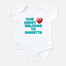 This Heart: Annette (E) Infant Bodysuit