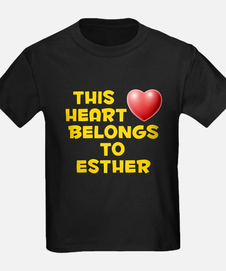 This Heart: Esther (D) T