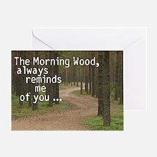 ASININE DESIGN Hilarious Gree Greeting Card