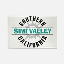 Simi Valley California Rectangle Magnet (10 pack)