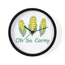 Oh so Corny Wall Clock