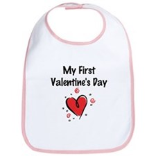 My First Valentine's Day Bib