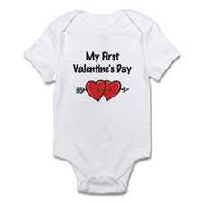 My First Valentine's Day Infant Bodysuit