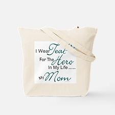 Teal For My Hero 1 (Grandma OC) Tote Bag