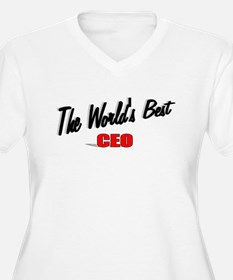 """The World's Best CEO"" T-Shirt"
