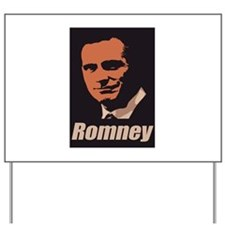 Romney Yard Sign