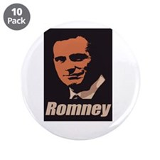 """Romney 3.5"""" Button (10 pack)"""
