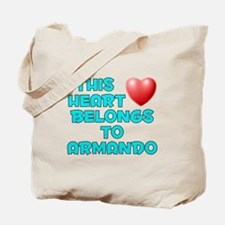 This Heart: Armando (E) Tote Bag