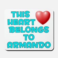 This Heart: Armando (E) Mousepad