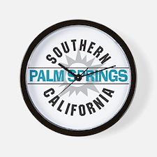 Palm Springs California Wall Clock