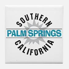 Palm Springs California Tile Coaster