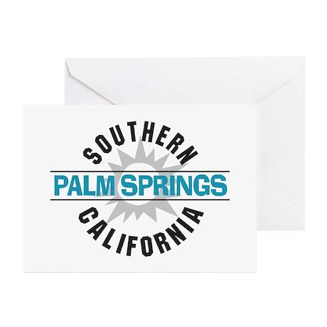 Palm Springs California Greeting Cards (Pk of 10)