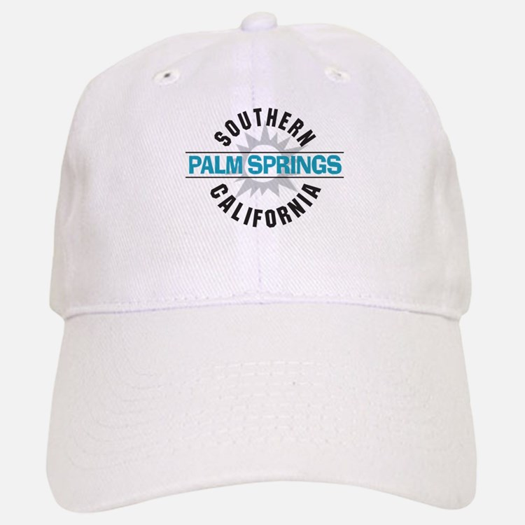 Palm Springs California Baseball Baseball Cap