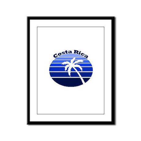Costa Rica Framed Panel Print